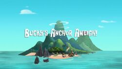 Bucky's Anchor Aweigh! titlecard