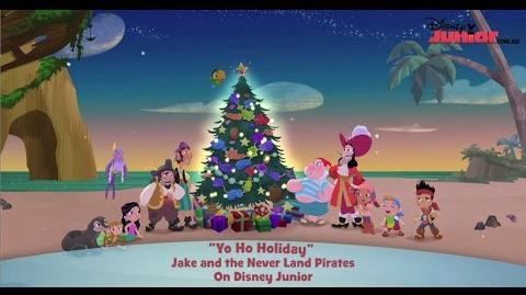 Jake and the Never Land Pirates - Song Yo Ho Holidays - Disney Junior Official