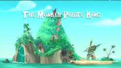 The Monkey Pirate King title card