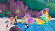 Jake&crew with Marina& Queen Coralie-The Mermaid Queen's Voice