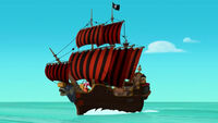 Hook&Jollyroger-Captain Hook's Lagoon01