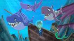 Jake&Finn-Look Out...Never-Sharks!01