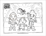 Jake's Story Quest Coloring Page 6