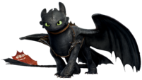 Toothless transparent big