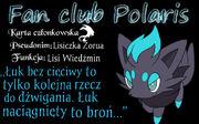 Karta członkowska dla Lisiczki 1
