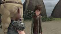 Hiccup after Astrid says that it is Fishlegs fault