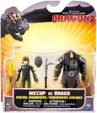Hiccup vs Drago figures