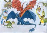 HTTYD Dragons by RayCycha