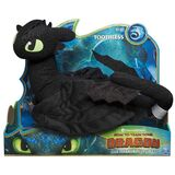Toothless spinmaster plush