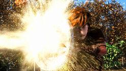 Armorwing fire