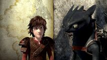 Hiccup Toothless map