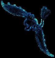 Szczerbatek jws3 render bioluminescencja