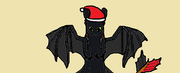 Toothless up christmass