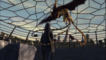 Sleuther próbuje zabić Szczerbatka
