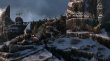 Berk zimą