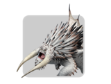 Dragons icon bewilderbeast white