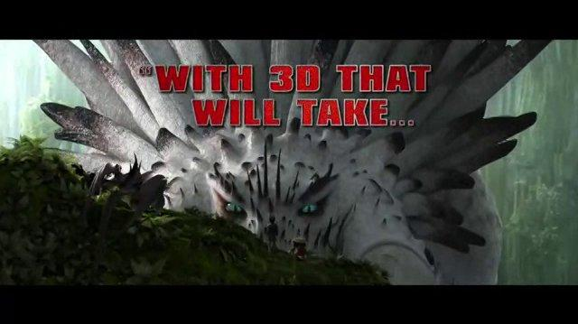 How To Train Your Dragon 2 New Comercial 3