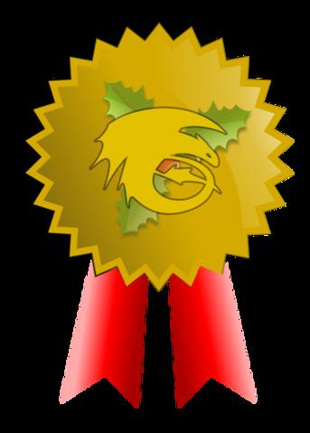 Złoty medal święta w obiektywie
