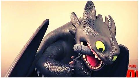Toothless Oscar Interview TV commercial HOW TO TRAIN YOUR DRAGON 3 (NEW 2019) Trailer HD