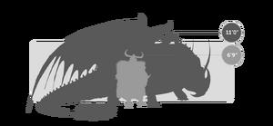 Dragons silo SKULLCRUSHER STOICK