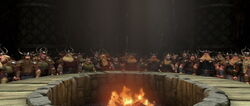 Spotkanie wikingów twierdza