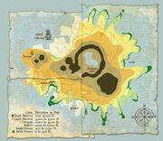Mapa Icestorm Island