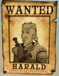 Harald list gończy