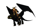 Night fury toothless on school of dragons by cottontoothless-d7mia9p