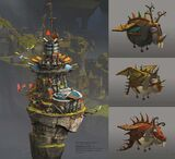 A concept of a new kind of tower