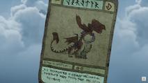 Karty śledzika wyrwiflak szkarłatny crimson gorecutter