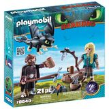 Astrid Hiccup old playmobil