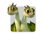 Dragons icon baby zipplebacks