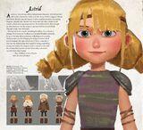 Astrid's new model in Hidden World