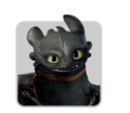 Dragon icon TOOTHLESS