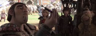 Httyd3 - Eret Hiccup Astrid and Gobber