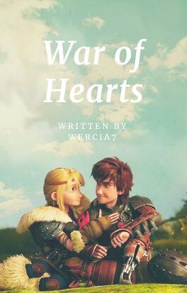 Wercia 7 — War of Hearts - okładka na książkę