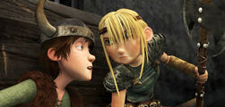 Hiccup & Astrid