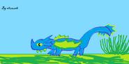 Wężogon Zielonoskrzydły dla Samukai2000