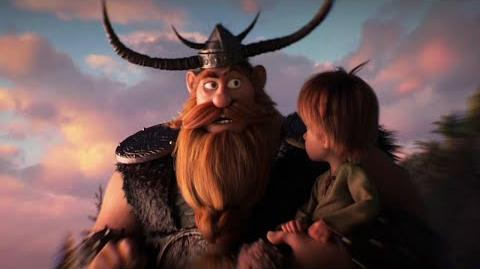 How to Train Your Dragon The Hidden World - Hiccup and Stoick the Vast Clip