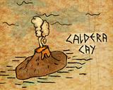 Caldera cay mapa
