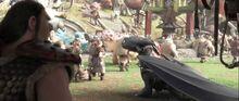 Eret, Toothless' saddle