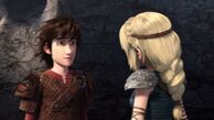 Astrid starting to answer Hiccup's question