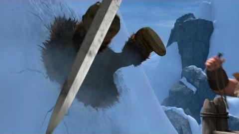 HOW TO TRAIN YOUR DRAGON - Dragon-Viking Games Vignettes Ski Jump