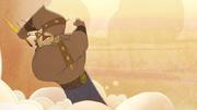 Thor z piorunem
