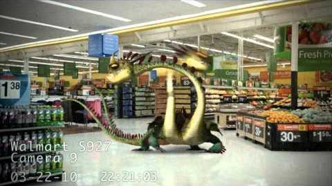 Dragons Caught on Walmart Cameras 2