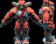 Guard 3D render