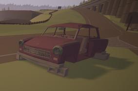 Roadside Laika