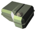 Component fuel tank portly green