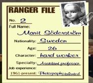 Marit Ranger File