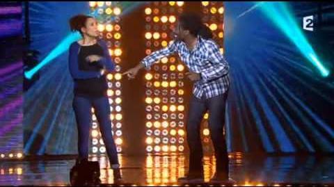 Amel Chahbi et Noom Diawara - Rire ensemble contre le racisme - 30 octobre 2012